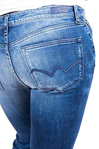 Le Cerises Des Mujer Pantalones Temps Cut Vaqueros Boot Para ZZrwqAU