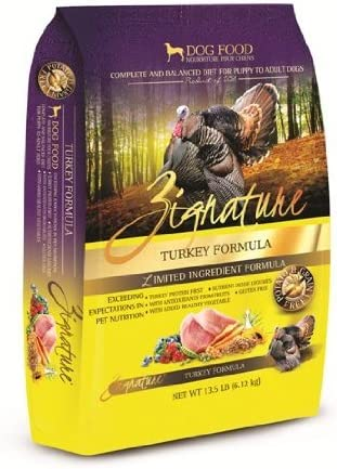 Zignature Turkey Limited Ingredient Premium Dry Dog Food, 13.5 lb. Bag. Fast Delivery, by Just Jak's Pet Market
