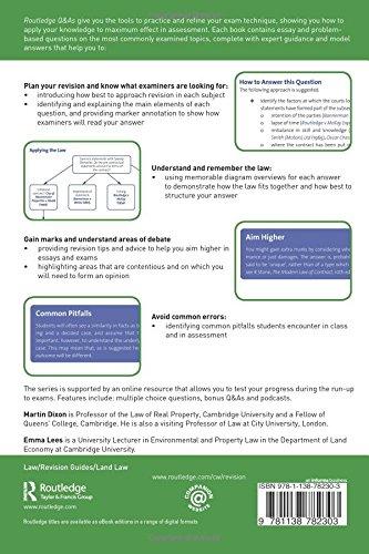 Sample land law essay Routledge iPad Screenshot