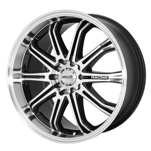 Maxxim Ferris Black Wheel with Machined  - Toyota Celica Alloy Wheels Shopping Results