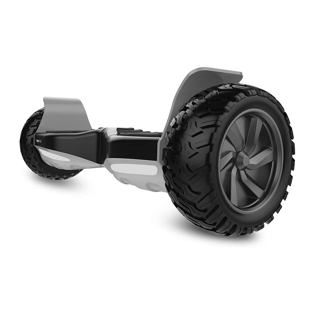 HYPER GOGO Hoverboard - Electric Smart Self Balancing Wheel Hoverboard Scooter - 8.5 Inch UL 2272 Certified IP54 Hover Board with Bluetooth Speakers,LED Lights,and Carry Bag - Black