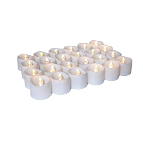 Electric Christmas Candles.Amazon Com Yanxh Led Flameless Candles Tea Lights Electric