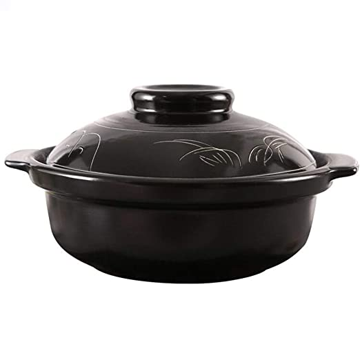 LiRuiPengSG GWDJ Hogar Abierto Flame cerámica cazuela ...