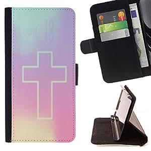 Momo Phone Case / Flip Funda de Cuero Case Cover - Violet Dieu Religion - MOTOROLA MOTO X PLAY XT1562
