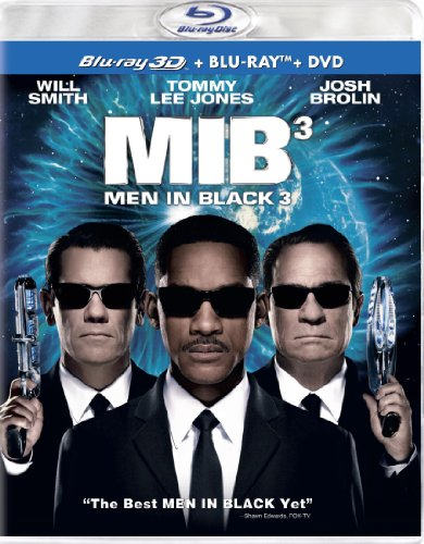Men in Black 3 (Three Disc Combo: Blu-ray 3-d / Blu-ray / DVD + UltraViolet Digital Copy)