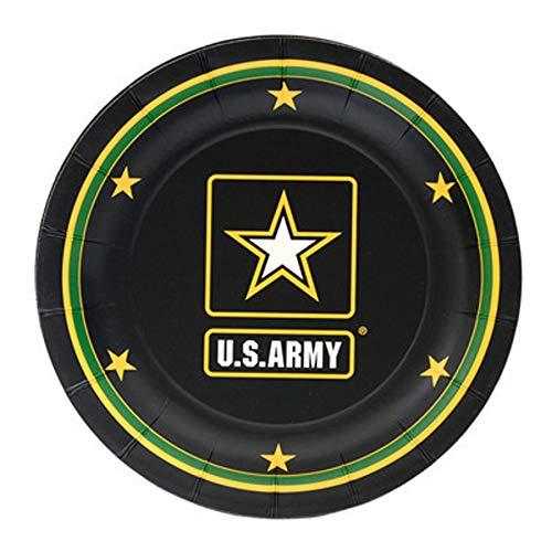 U.S Army Logo Dessert Plates (7