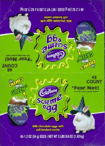 Cadbury Screme Eggs : 48 Count ()