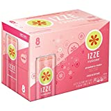 IZZE FUSIONS Sparkling Beverage, Strawberry Melon, 12 Ounce,  8 Count