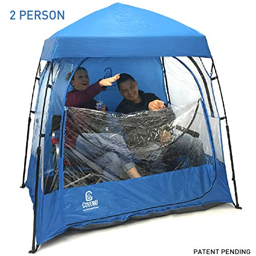 EasyGO CoverU Sports Shelter – 2 Person Weather Tent Pod