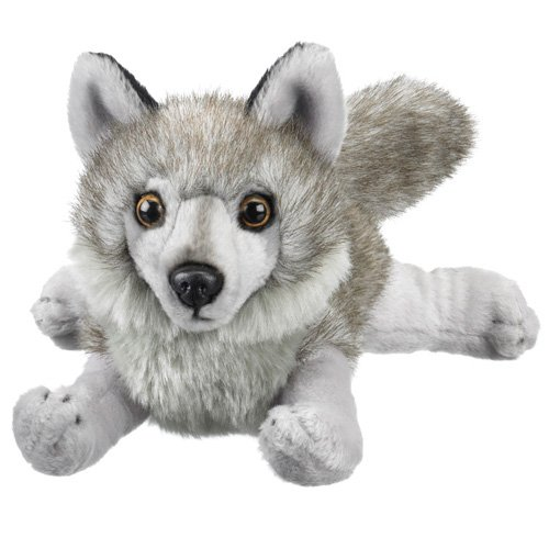 Wildlife Artists Wolf Lying Plush Toy 8 L Wildelife Artists 6071222