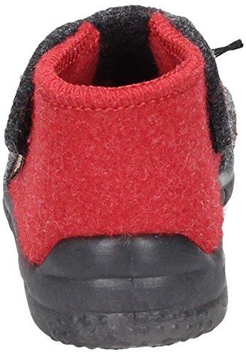 Manitu Unisex Kleinkinderstiefel in rot/anthrazit (rot) Red/Anthracite