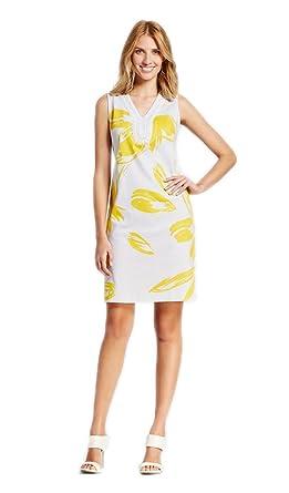 29b2c7ce31 Sandra Darren Women s Jeweled Detailed V-Neck Large Floral Print Ivvy Dress  (6)