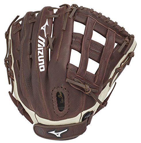 "Mizuno GFN1300S3 Franchise Series Slowpitch Softball Gloves, 13"", Right Hand Throw"