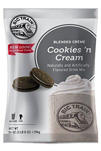 Big Train Blended Creme Mix, Cookies 'n Cream, 3.5 -
