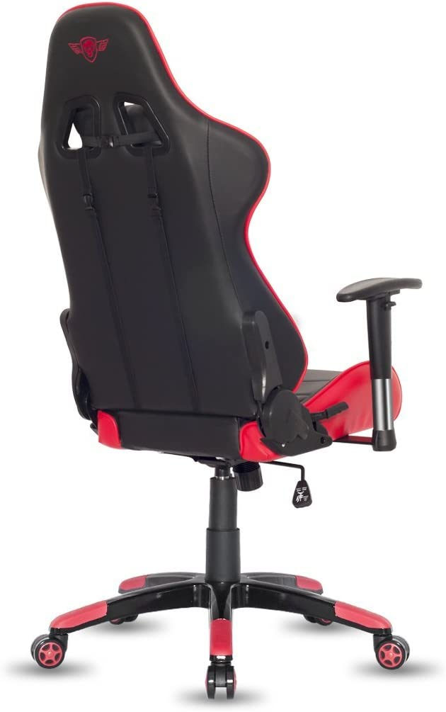 SPIRIT Rouge 2D Demon Series OF GAMER Gamer Intégrés Accoudoirs Chaise Chaise Fauteuil GamingCapacité Similicuir et – Gaming Noir bicolore FK1lcJ
