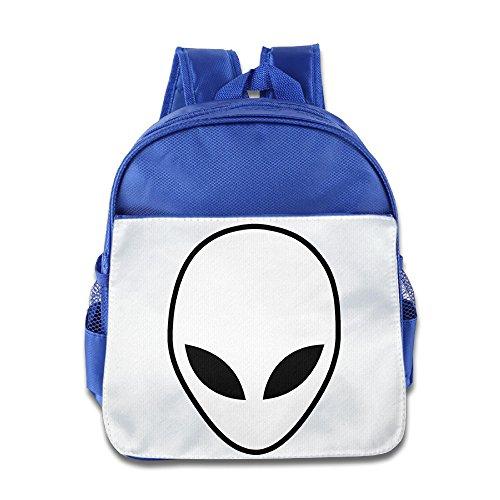 Lovely Baby Cute Alien Kids Children RoyalBlue School Backpack For 1-6 Years Old