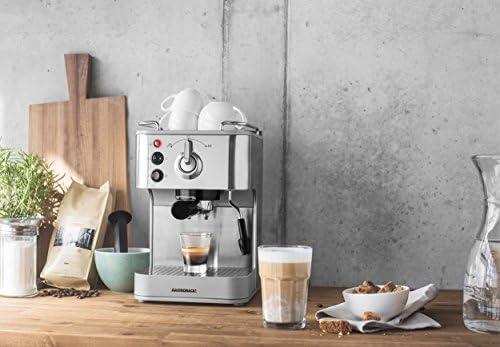 Gastroback 42606 Cafetera Espresso Puls, 1250 W, 1.5 litros, 0 ...