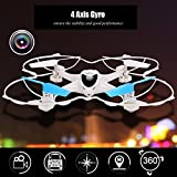 Tinfancy MJX X300C 2.4G 4CH 6-Axis RC Quadcoptepr FPV Real-time Video Drone Headless Mode 0.3MP Camera