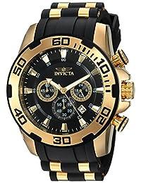 Invicta Men's 22340 Pro Diver Analog Display Quartz Black Watch