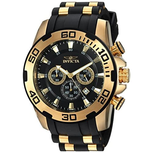 Invicta Men's Pro Diver Stainless Steel Quartz Watch with...