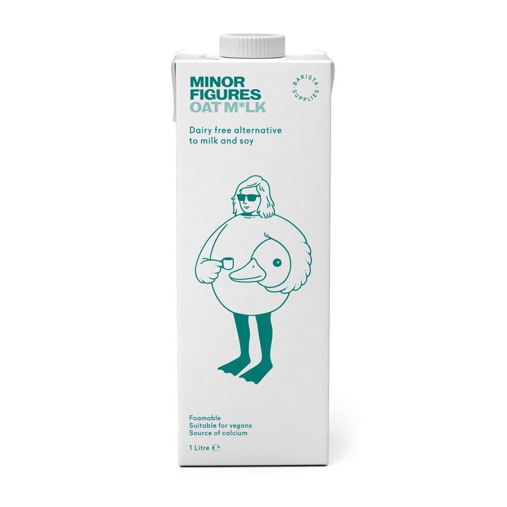 Minor Figures Oat Milk Case of 6 Liters