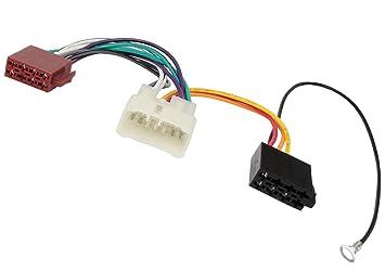 Adapter ISO-Konverter Aerzetix Kabel Radioadapter Radio Kabel Stecker ISO-Kabel Verbindungskabel