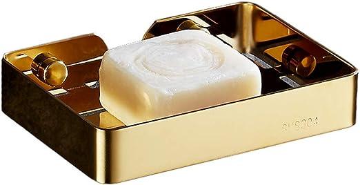 1 pc Magnetic Soap Holder White Creative Storage Rack for Restaurant Home Hotel