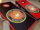 Marine Corps Cornhole Board Set