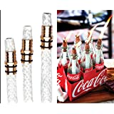 3 Pack: Wine Bottle Tiki Torch Kit - Includes 3 Tiki Torch Wicks and Brass Wick Mount - Just Add Bottle for an Outdoor Wine Bottle Light …