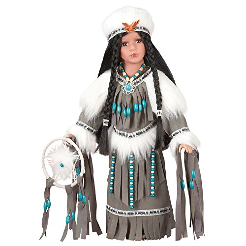 Women's Collectible Native American Tala Porcelain Doll