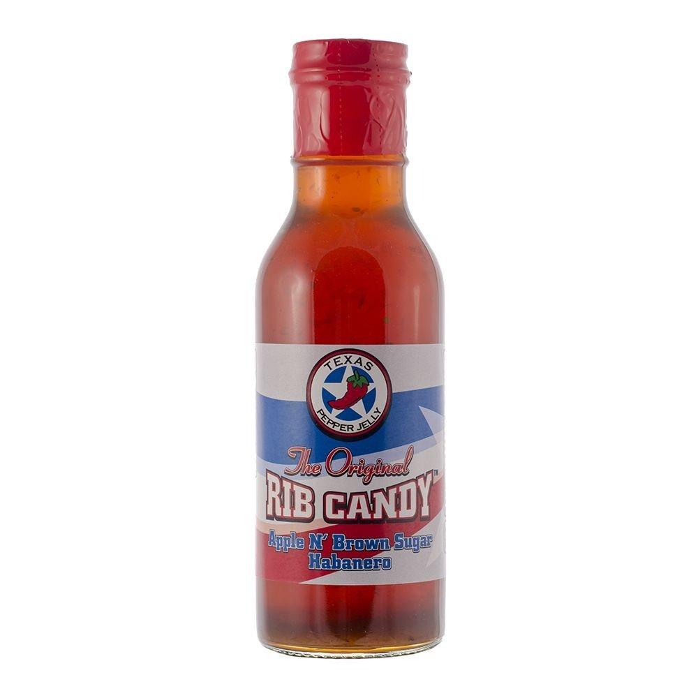 Rib Candy - Apple & Brown Sugar Habanero 12oz Bottle