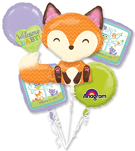 Mayflower Products Woodland Welcome Balloon Bouquet - Party Supplies ()