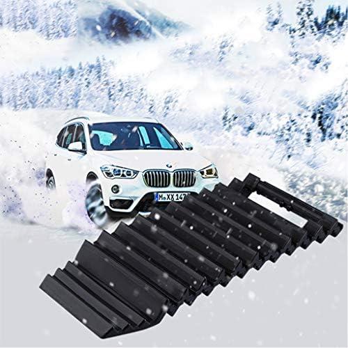 スノートラクションマット - スノーアイスマッドサンドレスキュー機器用タイヤホイールグリップトラクションマットトラック