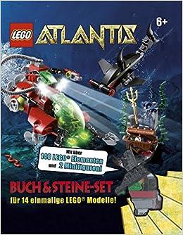 Lego Atlantis Buch Steine Set Aufklappbox Mit Buch 9783831016921