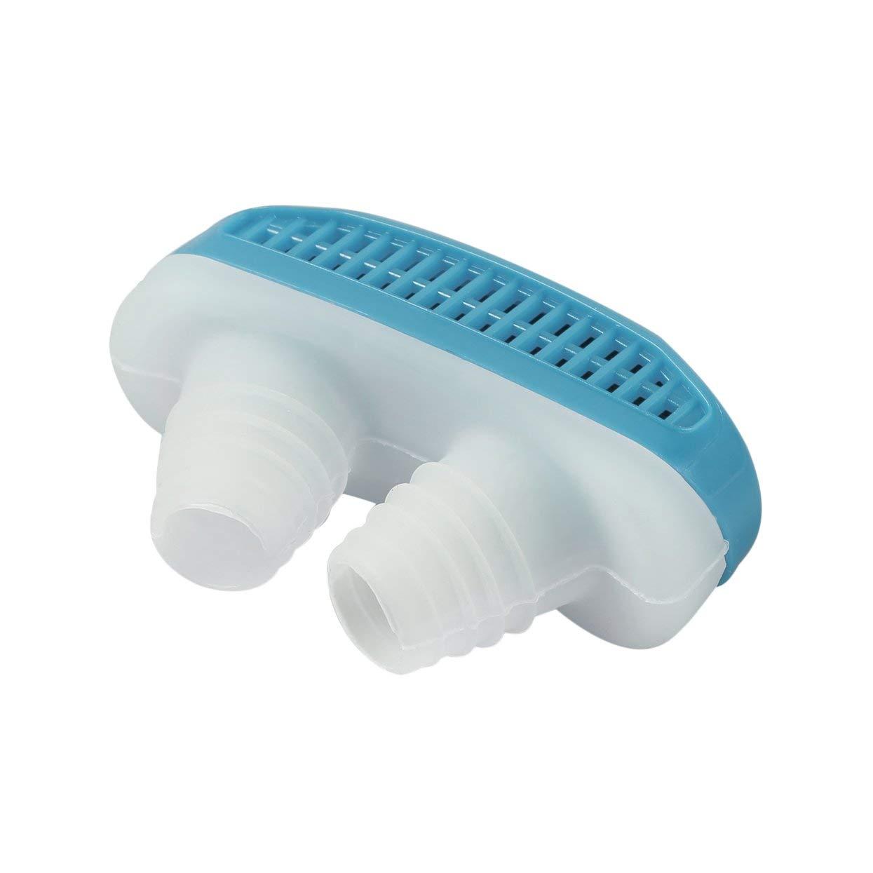 Tellaboull 2 en 1 Salud Anti ronquidos y purificador de Aire Aliviar la congestió n Nasal Dispositivos de ronquidos Ventilació n Anti-ronquidos Clip para la Nariz