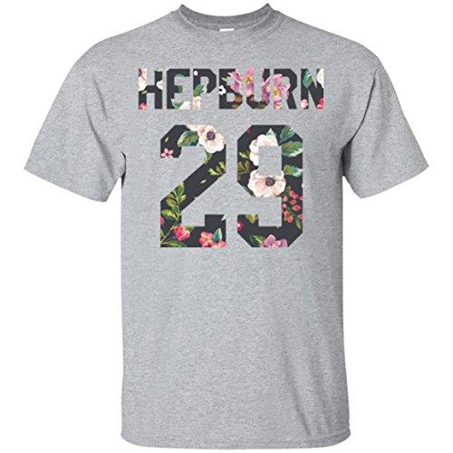 Exclusive Hepburn Shirt, 1929 Birthday Year, Flower Art Audrey 29 Tee, World Tour T-Shirt, Perfect Gift, Unisex, Men, Women
