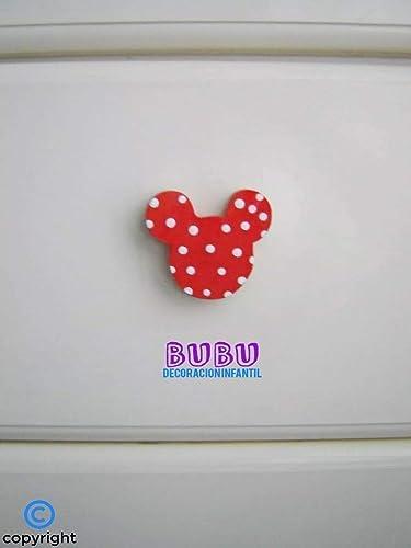 Tiradores infantiles de Mickey y de Minnie con colores personalizados Unidad