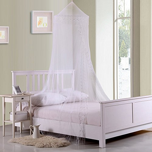 Casablanca Kids Galaxy Collapsible Hoop Sheer Bed Canopy by Casablanca Kids