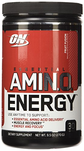 OPTIMUM NUTRITION ESSENTIAL AMINO ENERGY, Fruit Fusion, 30 Servings (Pack of 3)
