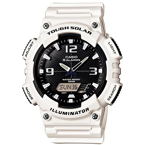 Casio Sports White Watch AQS810WC 7A
