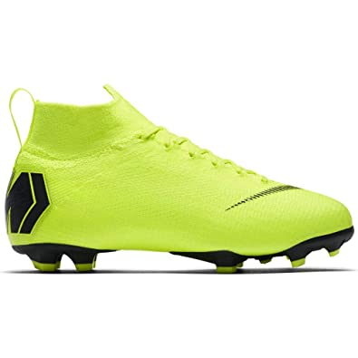 huge selection of 0ed43 f7cf9 Amazon.com | Nike Jr. Superfly 6 Elite FG Volt/Black | Soccer