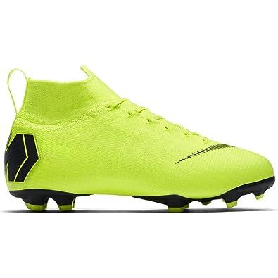huge selection of 46ecb f22f9 Amazon.com | Nike Jr. Superfly 6 Elite FG Volt/Black | Soccer
