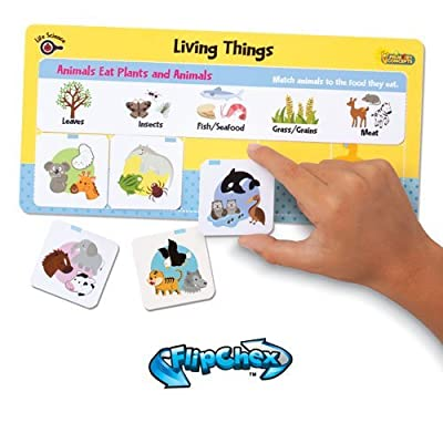 Primary Concepts, Inc Flipchex Science, Living Things Learning Kit: Toys & Games