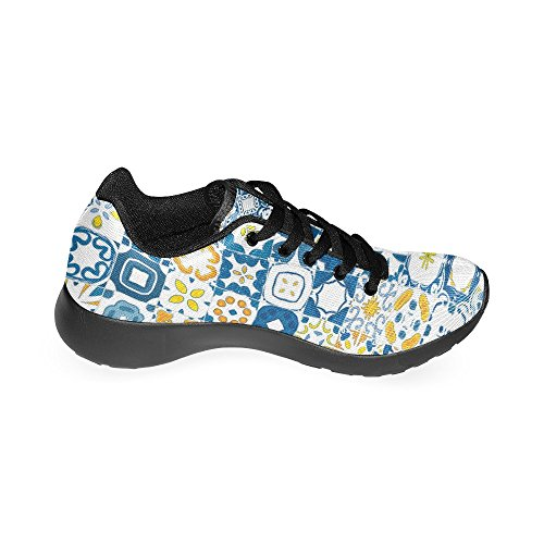 Portuguese Casual 6 Pattern Sneakers Zenzzle Running Shoes Athletic Lightweight Women's 15 Tiles Size US 4wqnFndY