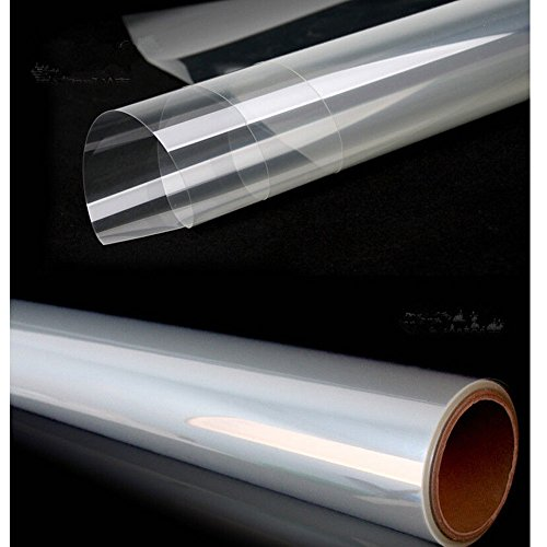 HOHO 4Mil Transparent Safety and Security Window Film Explosion Proof 60