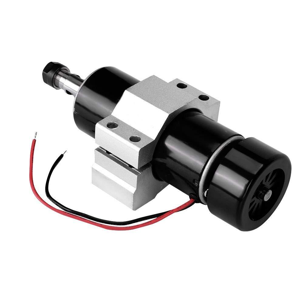 moteur de broche de refroidissement par air /à commande num/érique AC110-220V CNC 500W Ensemble de r/égulateur de moteur r/égulateur de vitesse collet ER11 pinces de 52 mm