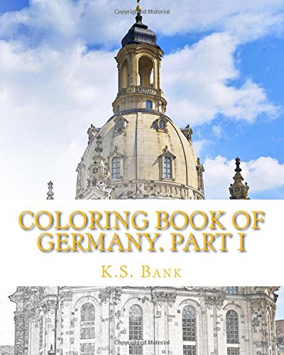 Coloring Book of Germany. Part I (Volume 1)