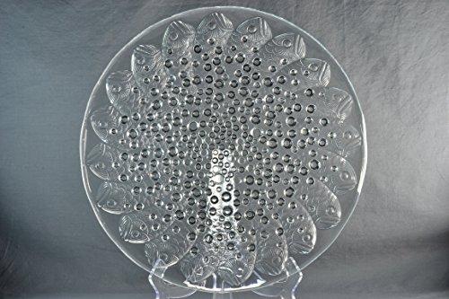 Lalique Crystal Bowl, Pre-1978 Roscoff Fish -
