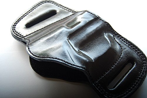 - Browning 1911-380 Belt Slide Laether Holster (Black)