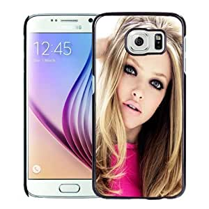 New Personalized Custom Designed For Samsung Galaxy S6 Phone Case For Amanda Seyfried Hot Phone Case Cover